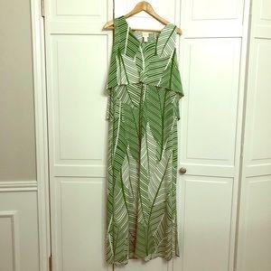 Chico's Fern Print Maxi dress EUC✅